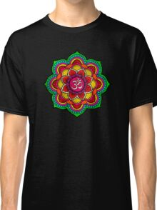 Psychedelic galactic Ohm Classic T-Shirt