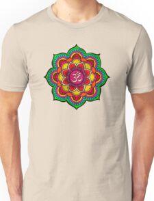 Psychedelic galactic Ohm Unisex T-Shirt