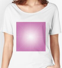 pink rays background Women's Relaxed Fit T-Shirt