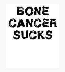 Bone Cancer T Shirt Photographic Print