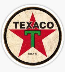 Texaco - Vintage Sign Sticker