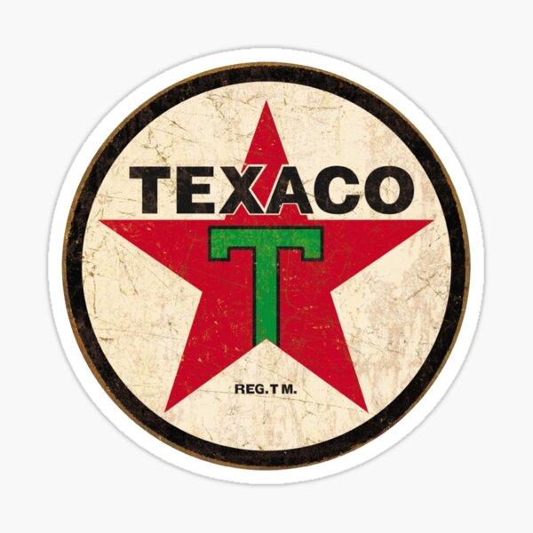 Texaco - Signe Vintage Sticker