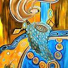 Captain Grapebeard (Canvas edition) by jonkania