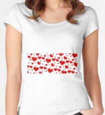 Love banniere  Women's Fitted Scoop T-Shirt
