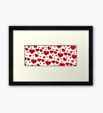 Love banniere  Framed Print