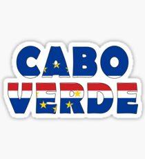 Cape Verde - Cabo Verde Sticker