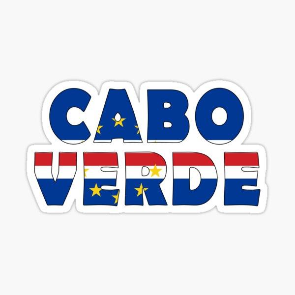 Cap-Vert - Cabo Verde Sticker