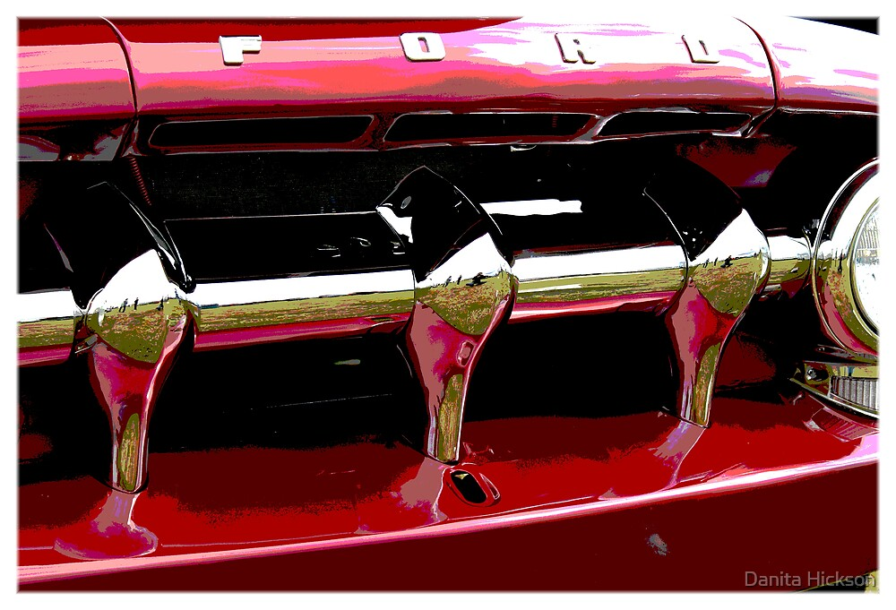 Ford Grill by Danita Hickson