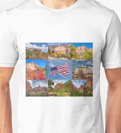 American Splendor - Zion National Park Unisex T-Shirt