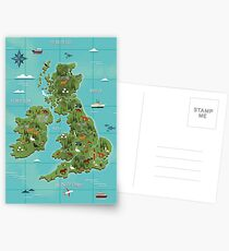 British Isles  Postcards