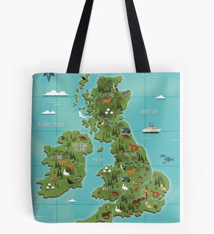 British Isles  Tote Bag