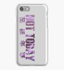 Not Today - BTS iPhone Case/Skin