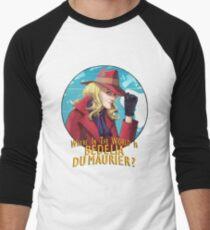 Where in the world is Bedelia Du Maurier? Men's Baseball ¾ T-Shirt