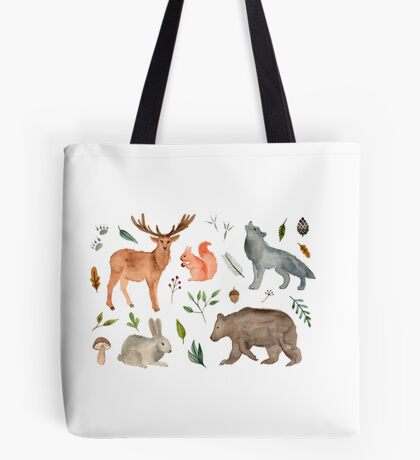 forest team Tote Bag