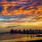 Summer Sunset in Panama by Bernai Velarde