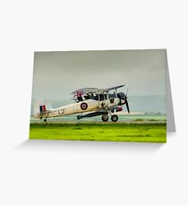 WWII Plane Greeting Card