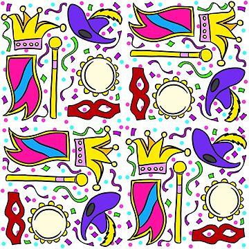 Mardi Gras by cozyreverie
