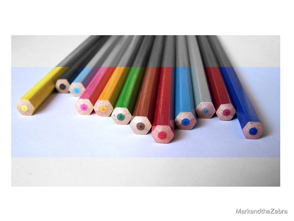 Pencils by MarkandtheZebra