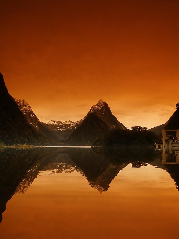 Mitre Peak, New Zealand by David James