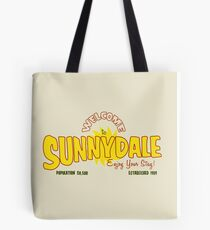 Welcome to Sunnydale Tote Bag