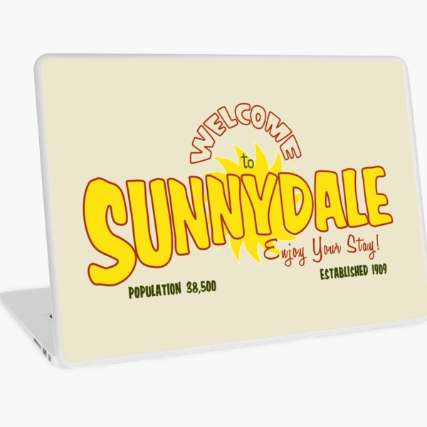 Welcome to Sunnydale Laptop Skin