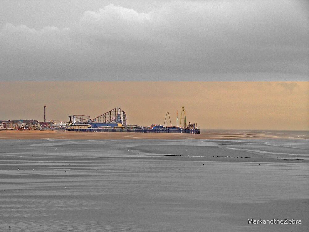 Central Pier, Blackpool by MarkandtheZebra