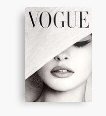 Vogue Metal Print. $59.93. Audrey Hepburn Canvas Print