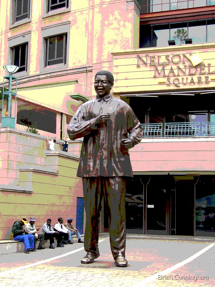 Statue: Nelson Mandela by Brian Cunningham