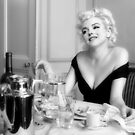 Marilyn Monroe - After Coffee by Ision