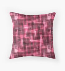Abstract watercolor pattern.  Throw Pillow