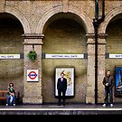 Arched people by Miodrag Bogdanovic