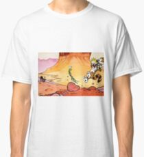 Calvin and Hobbes Weirdos From Another Planet Classic T-Shirt