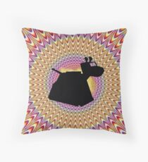 K9 Trip Throw Pillow