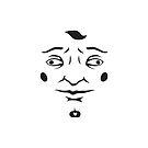 Creepy Face by Martin Mejak