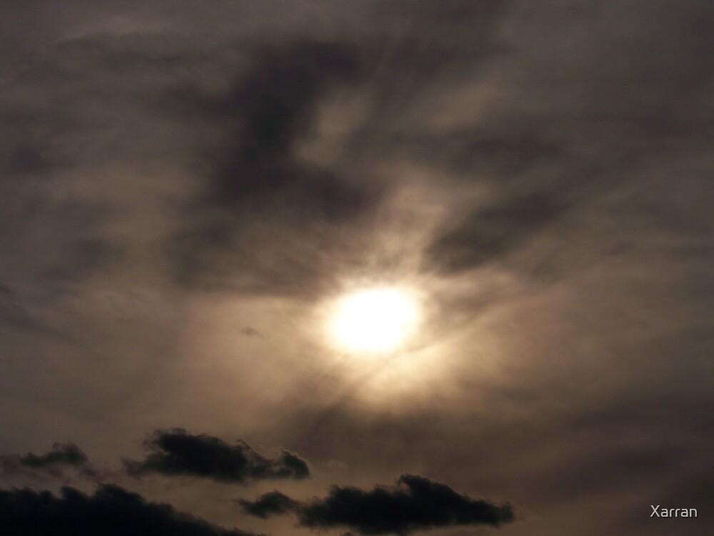 Dreary Sunset by Xarran