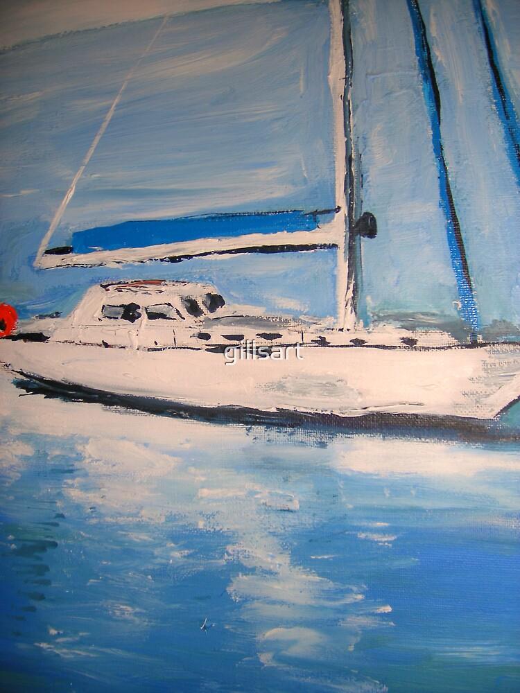Yacht  by gillsart