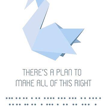 Prison Break Origami by Tiagodvl
