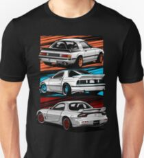 Dream Cars RX7 Generations Unisex T-Shirt