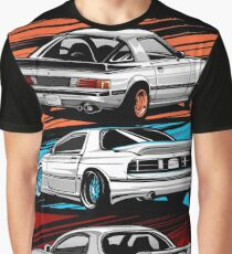 Dream Cars RX7 Generations Graphic T-Shirt