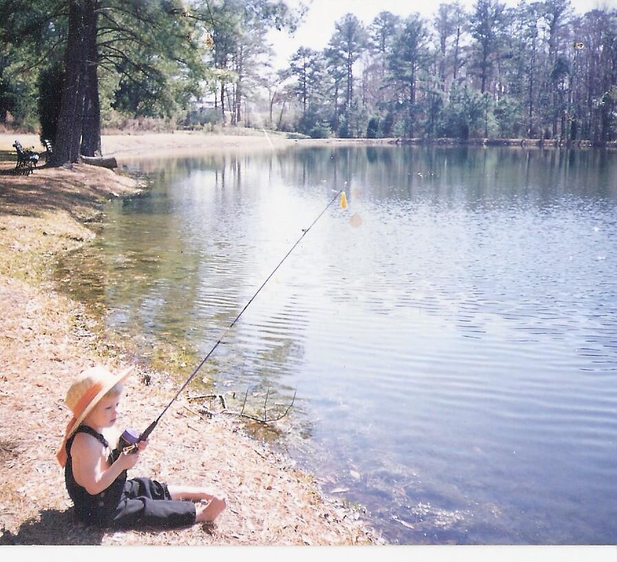 Chaz Fishing by peggyprescott