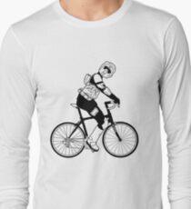 Biker Scout on a Bicycle - Biker Scout Bike - Star Wars Biker Scout Long Sleeve T-Shirt