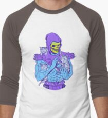 Skeletor, Masters of the Meowniverse. Men's Baseball ¾ T-Shirt