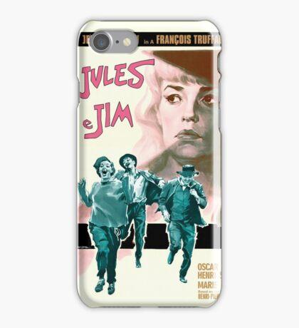 Jules and Jim - Francois Truffaut film iPhone Case/Skin