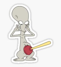 Roger plunger  Sticker