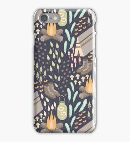 Camping Bliss iPhone Case/Skin
