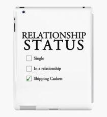 Relationship status - caskett iPad Case/Skin