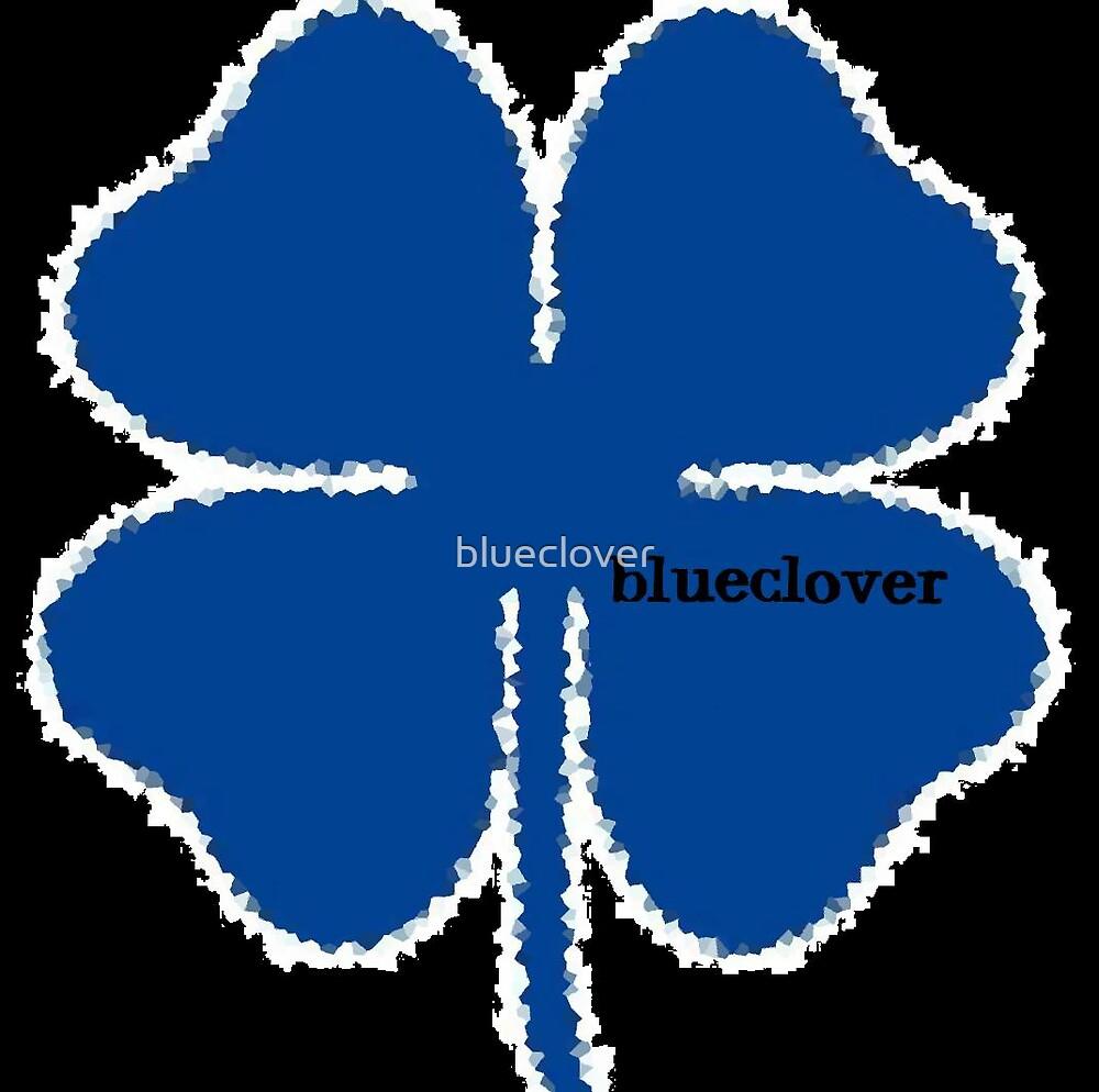 Blueclover's logo design by blueclover