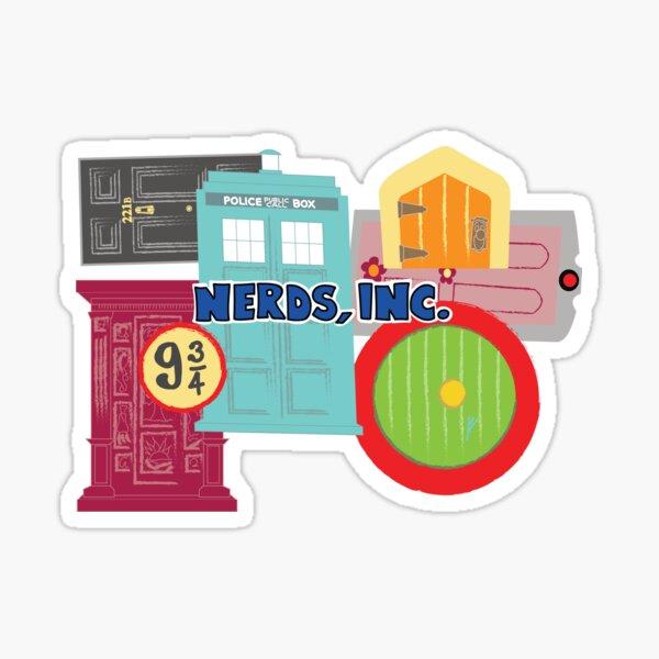 Nerds, Inc Sticker