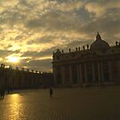 Saint Peter's Square, Vatican City by tonyphoto