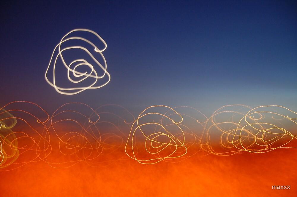 Swirling moon. by maxxx